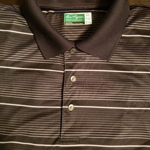 Ben Hogan Black and silver polo